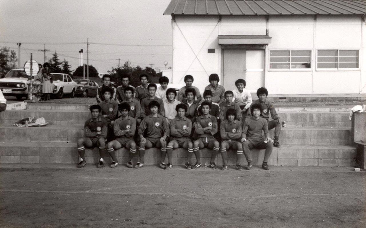 1979年関東リーグ在籍時